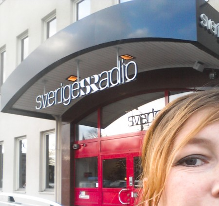 Linda Åkerström på Sveriges Radio