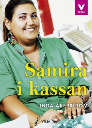Lättläst bok om yrken, ingår i serien Vilja jobba. författare Linda Åkerström, Vilja förlag