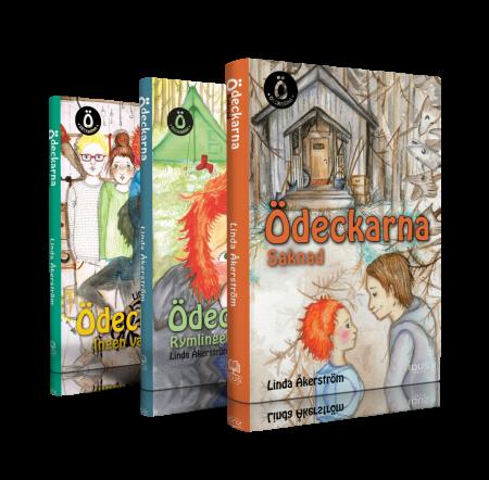 Ödeckarna - tre böcker