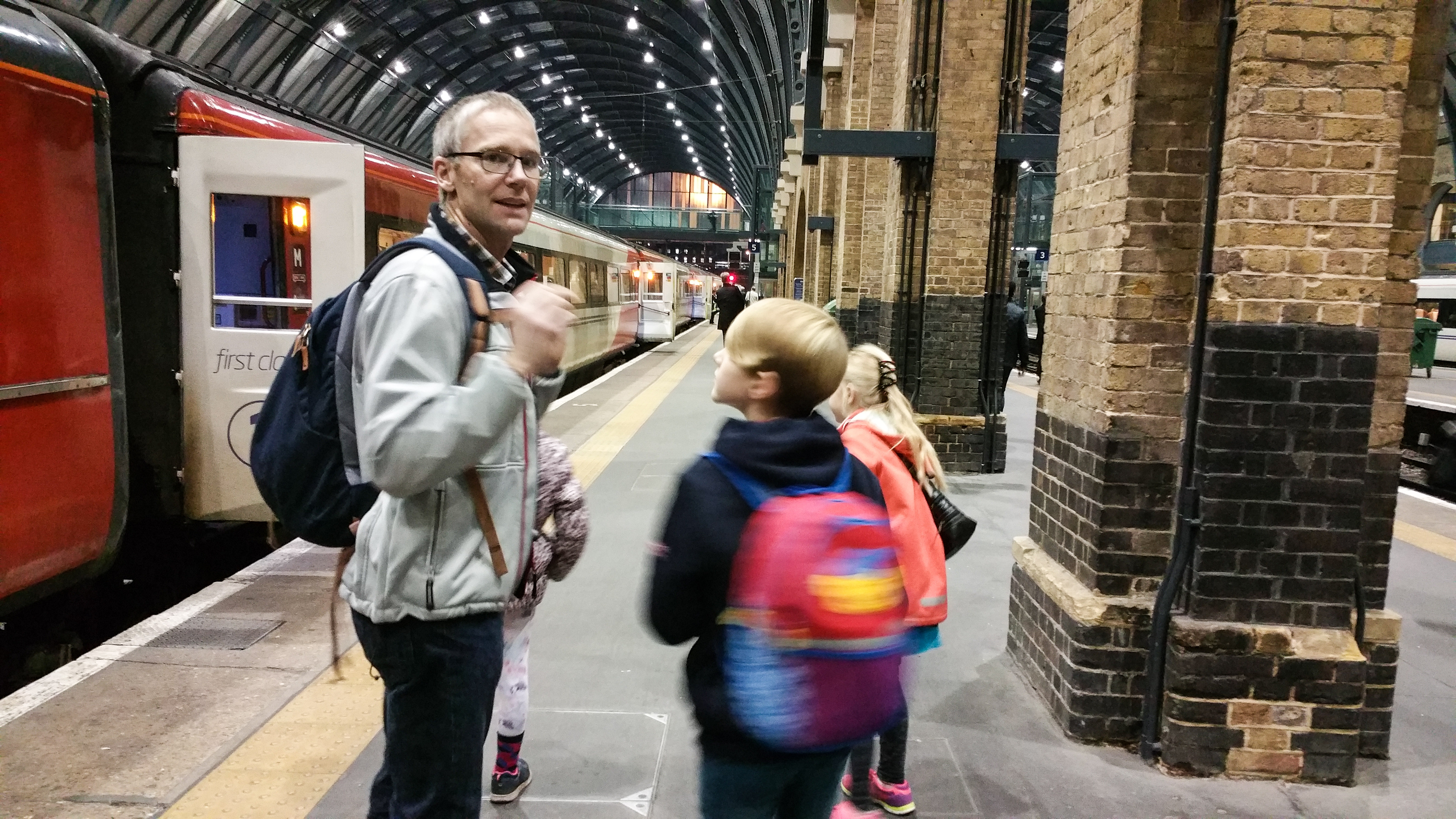 Harry Potter, Kings Cross station