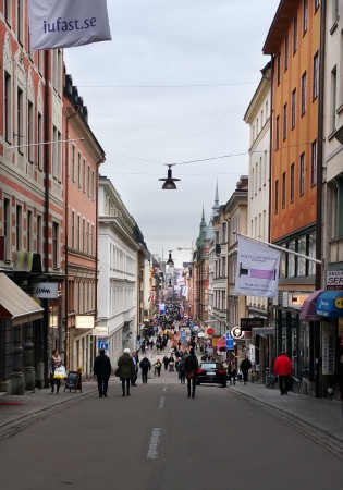 Drottninggatan Stockholm, www.lindaakerstrom.se