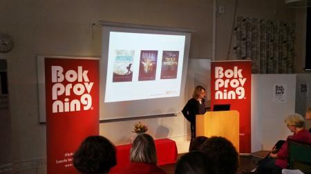 Bokprovning 2016 Svenska barnboksinstitutet www.lindaakerstrom.se