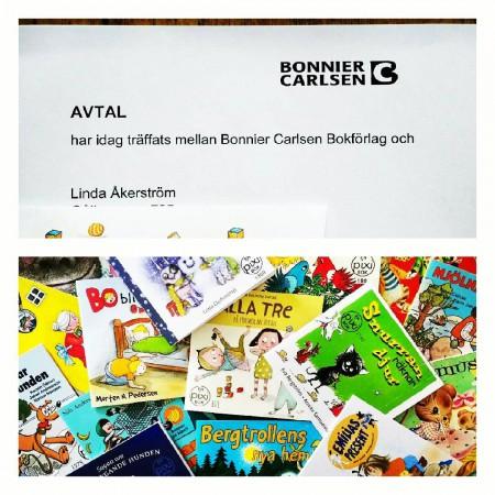 Nytt bokavtal! Nu blir det en pixi. Boken kommer ut någon gång under 2017. Häng här eller på www.lindaakerstrom.se för att se vad som händer framöver ... @bonniercarlsen #pixi #barnbok #författare #nyttbokavtal