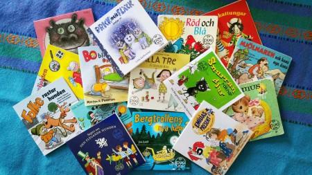 Pixiböcker. Avtal påskrivet med Bonnier Carlsen. Foto: Linda Åkerström
