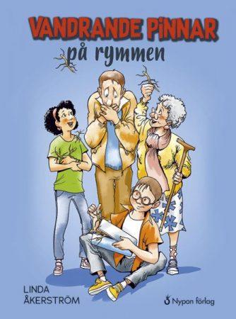 Lättläst bok för barn. Vandrande pinnar på rymmen. Nypon förlag